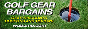 Golf Gear Deals, Bargains, Discounts, Coupons and Reviews at Wubumu.com